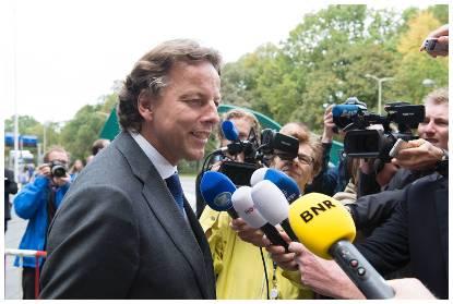 Minister van Buitenlandse Zaken Bert Koenders
