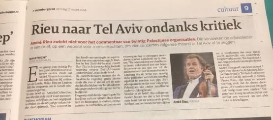 Andre Rieu boycott